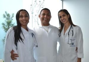 Almerinda Marques, Maíra Libório e Paulo Lima